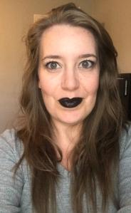 Wearing Blackberry LipSense