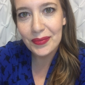 Wearing a custom made shade of LipSense